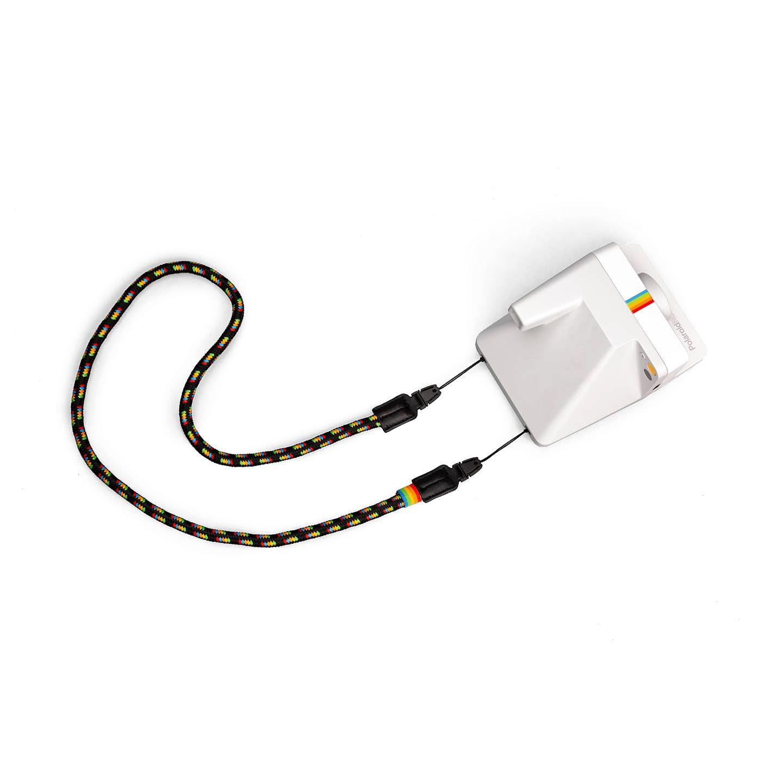Polaroid Kameragurt rund : Regenbogen