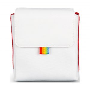 Polaroid Now Kameratasche : Weiß/Rot