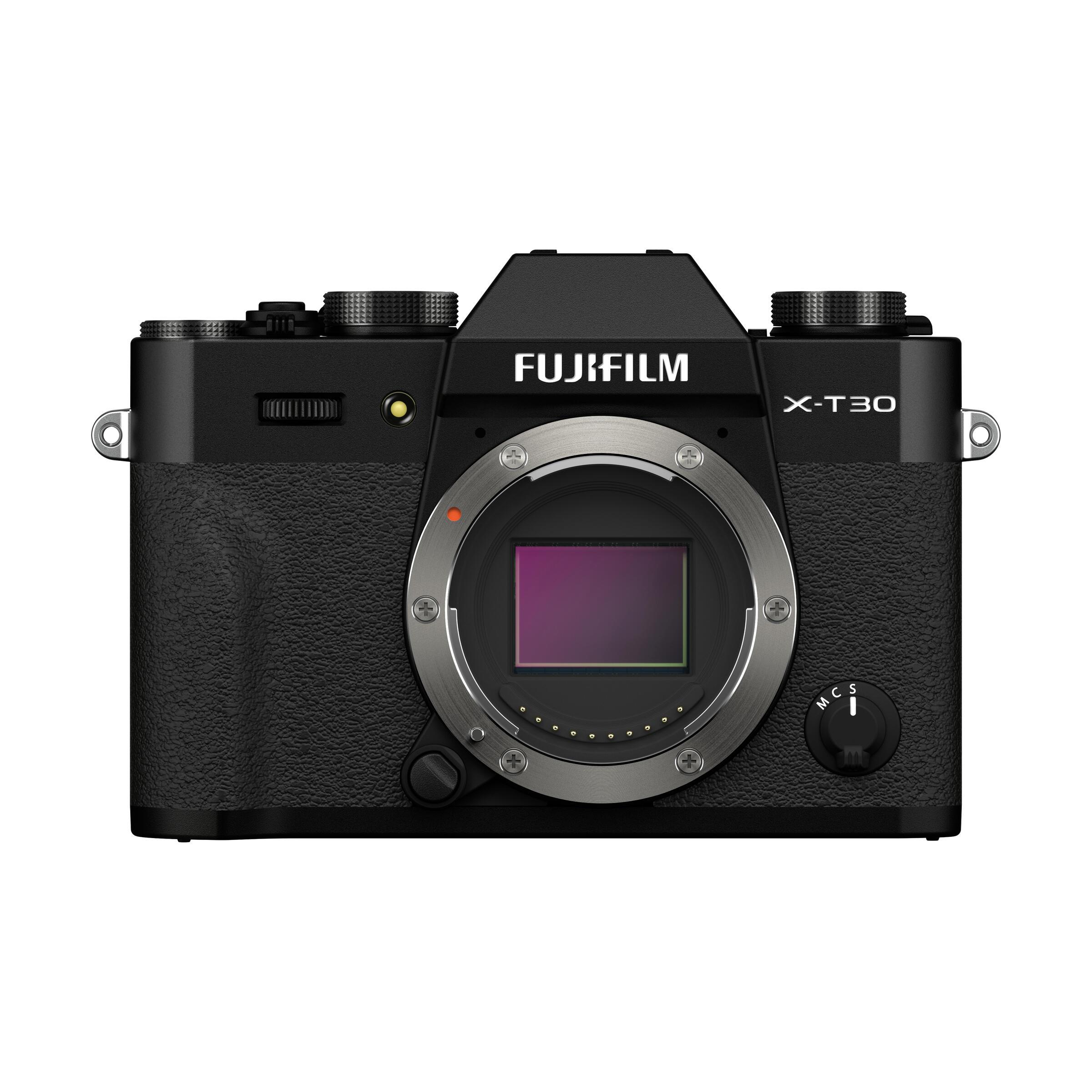 FUJIFILM X-T30 II : Schwarz