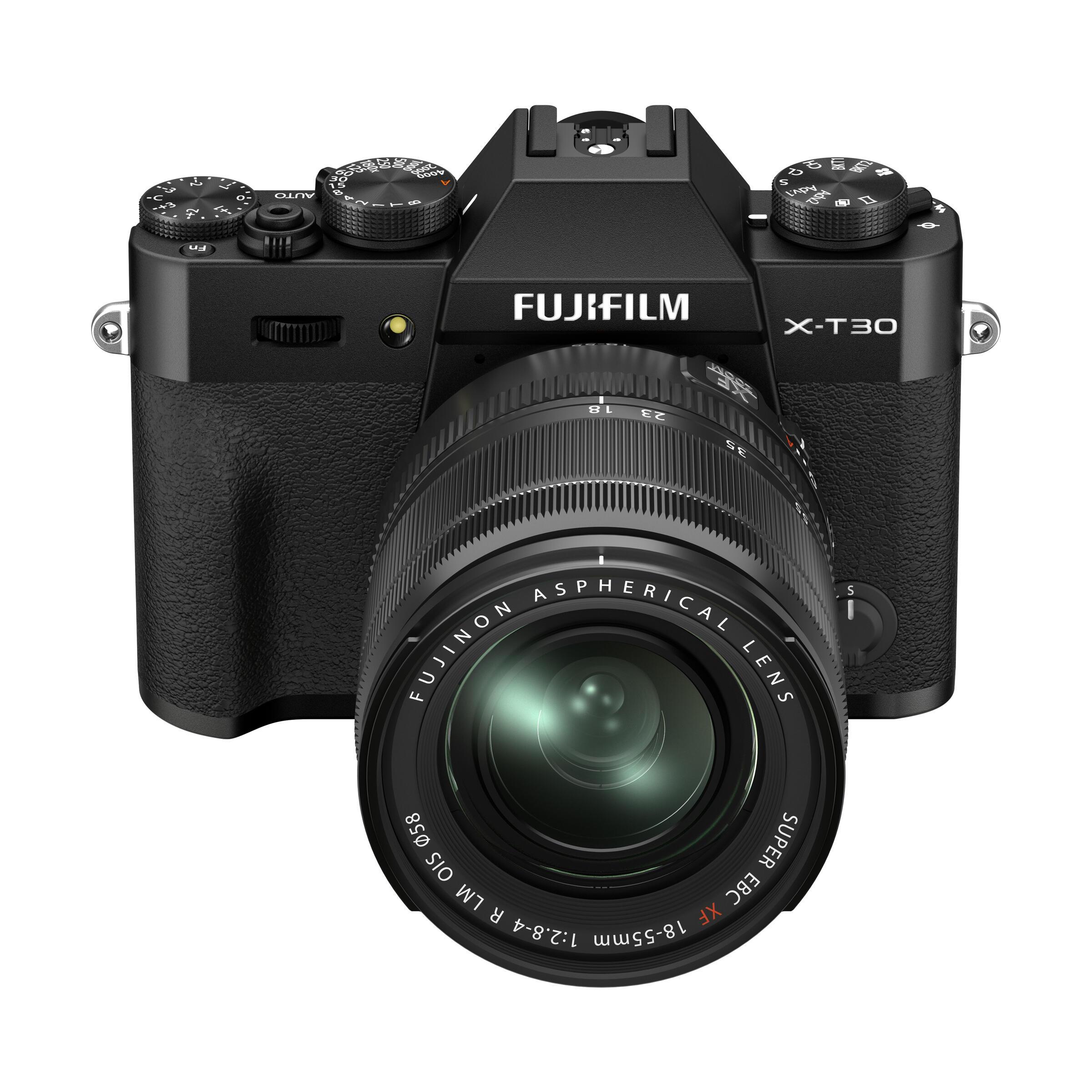 FUJIFILM X-T30 II + XF 18-55mm R LM OIS : Schwarz