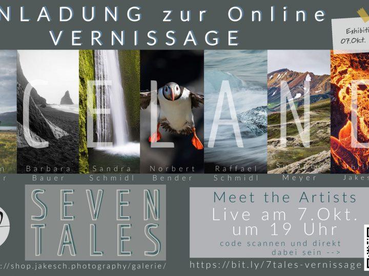 Online Vernissage – Seven Tales